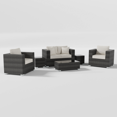 Calla Lily 6-Piece Patio Sofa Set