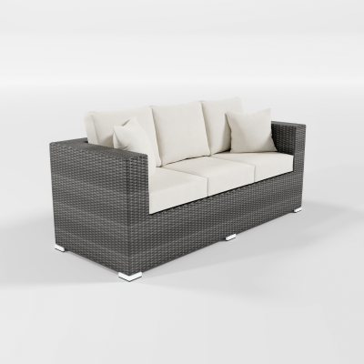Calla Lily Patio Sofa
